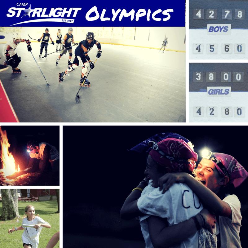 Camp Starlight Olympics: Day 3 Scores