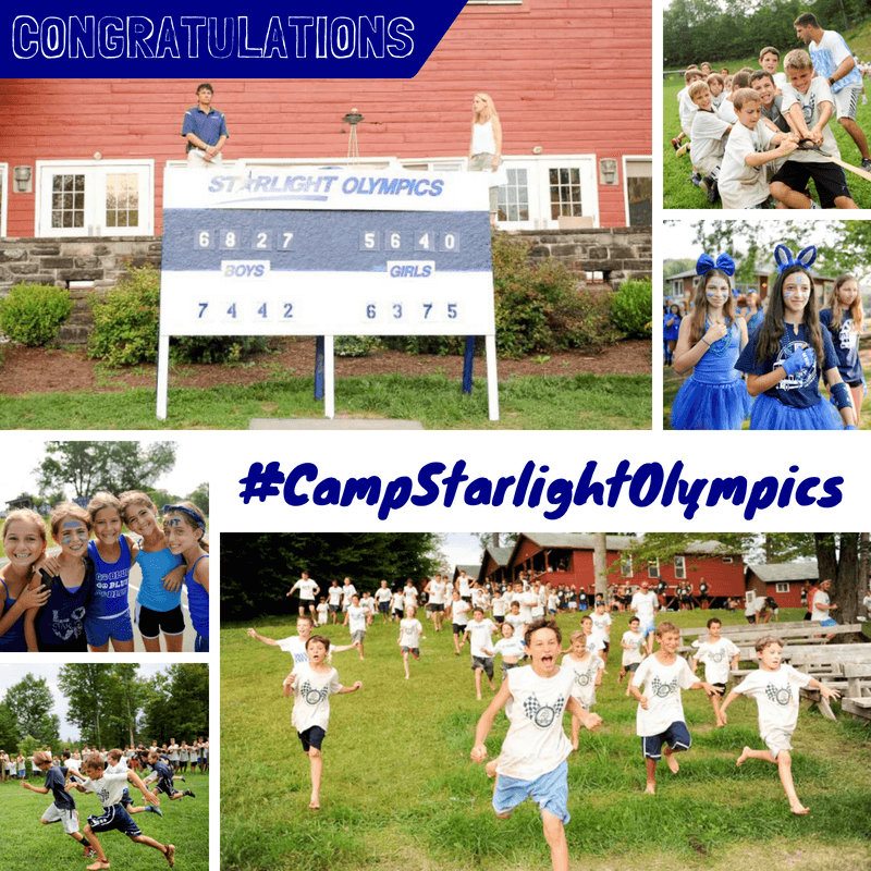 Camp Starlight Olympics: Final Scores